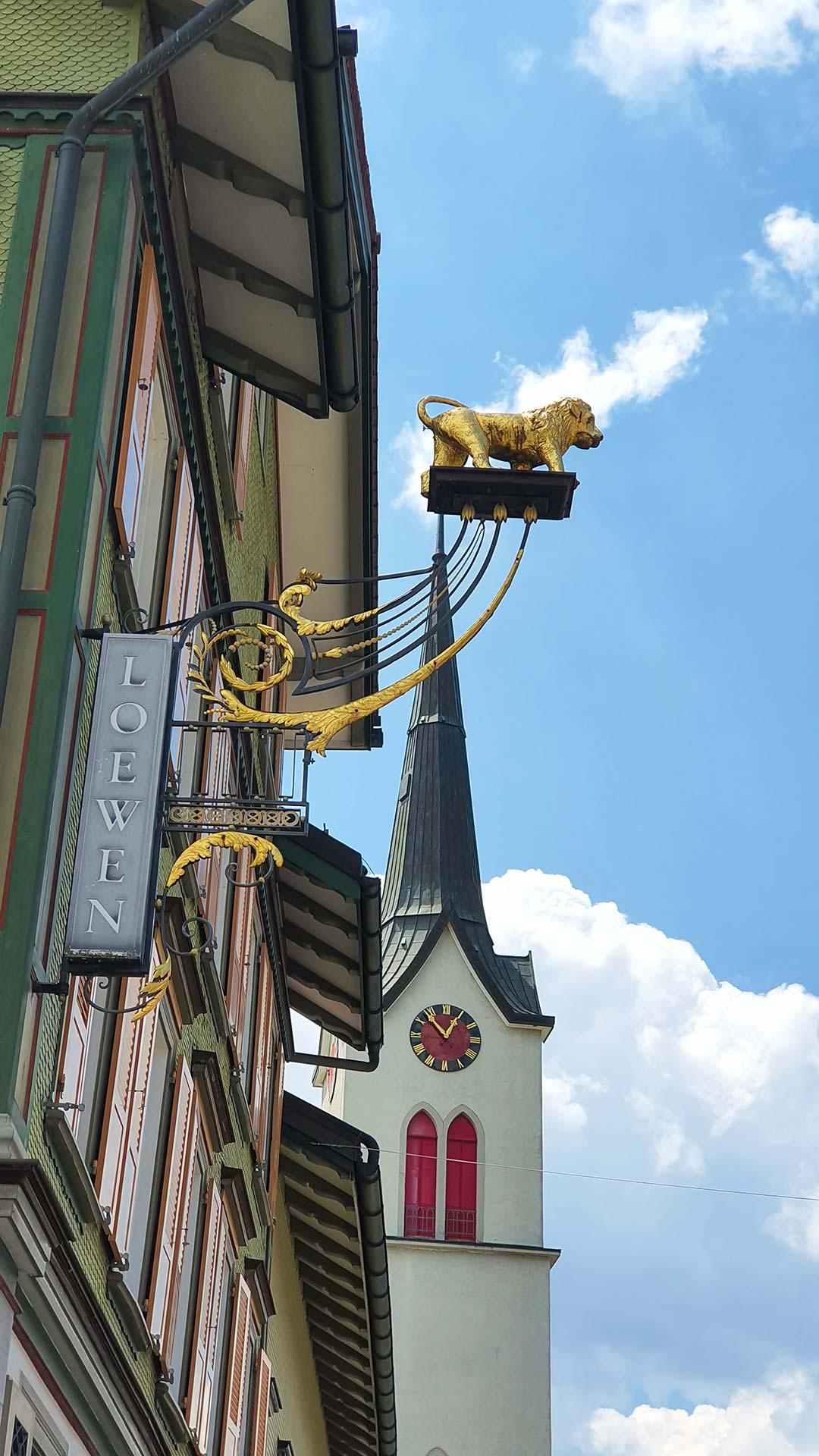 Loewen Gonten, Dorfbeiz in Gonten Appenzell